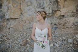 Portrait der Braut von Conny Schöffmann Photography, Hochzeitsfotografin Würzburg