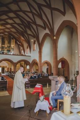 Kirchliche Trauung in Würzburg von Hochzeitfotografin Conny Schöffmann Photography