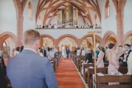Hochzeitsfotograf Conny Schöffmann Photography fotografiert Einzug der Braut in die Kirche