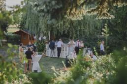 Outdoor Zelthochzeit im Grünen fotografiert von Würzburger Hochzeitsfotografin Conny Schöffmann Photography